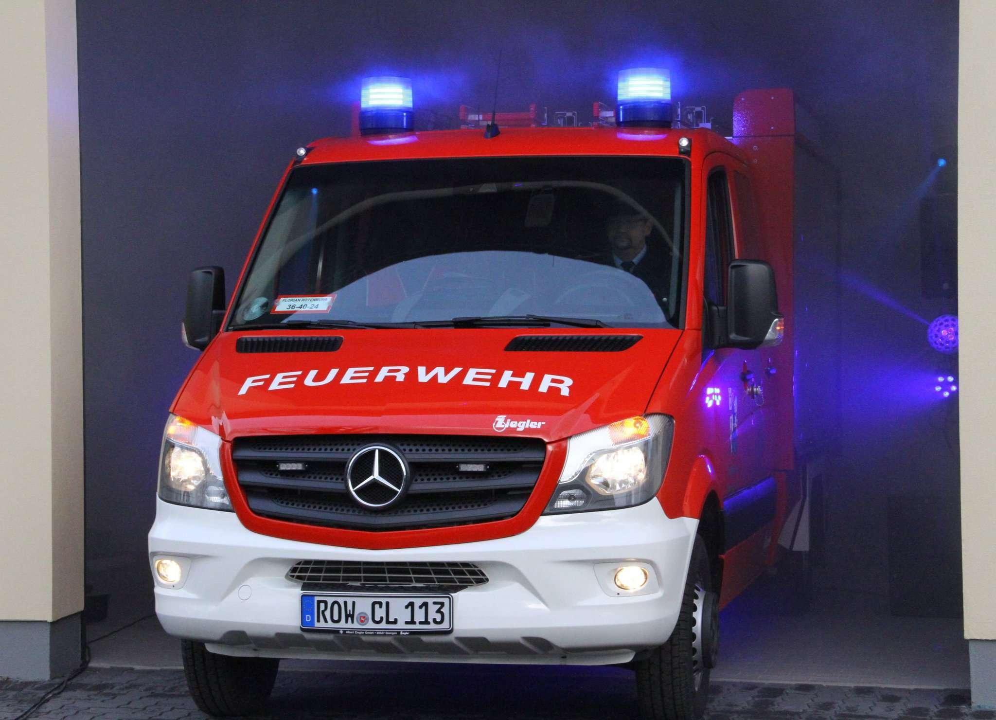 Tragkraftspritzenfahrzeug und neue Halle: Investitionen wie die bei den Clüversborsteler Brandschützern regelt künftig die Feuerwehrplanung.