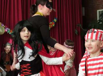 TV Hassendorf feiert Kinderfasching im Dorfgemeinschaftshaus