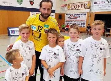 Junge Handballer erfüllen sich Traum