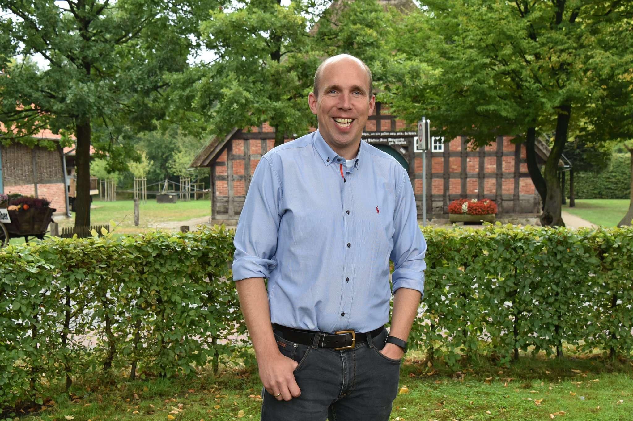 Holger Bahrenburg läuft als Gastspieler der Werder Allstars auf.
