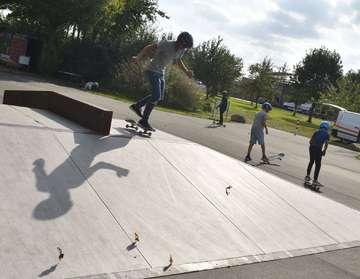 Jugendliche weihen Skatepark ein  Fortsetzung folgt  Von Rosemarie Swingle