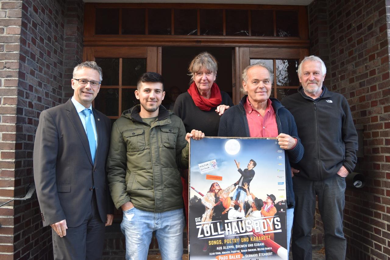 Kulturini, Sponsoren und auch Vertreter der Zollhausboys selbst freuen sich schon auf den Auftritt in Sottrum.