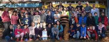 Grundschule Sottrum gewinnt bei Waldjugendspielen