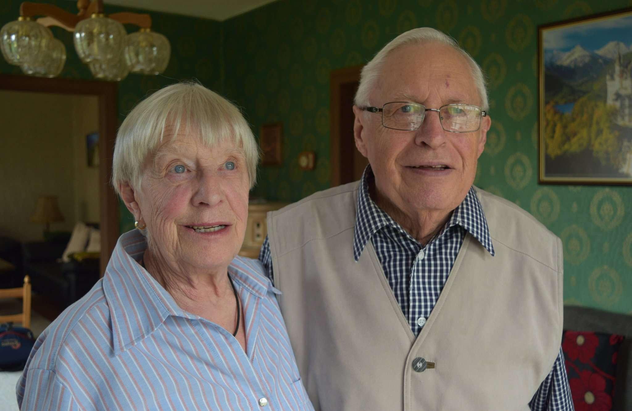 Martha und Hermann Lindes blicken gern auf die gemeinsamen Ehejahre zurück u2013 und davon gibt es reichlich, denn sie sind schon 60 Jahre verheiratet.