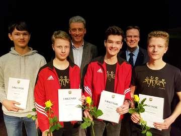 Samtgemeinde ehrt Sportler für herausragende Leistungen