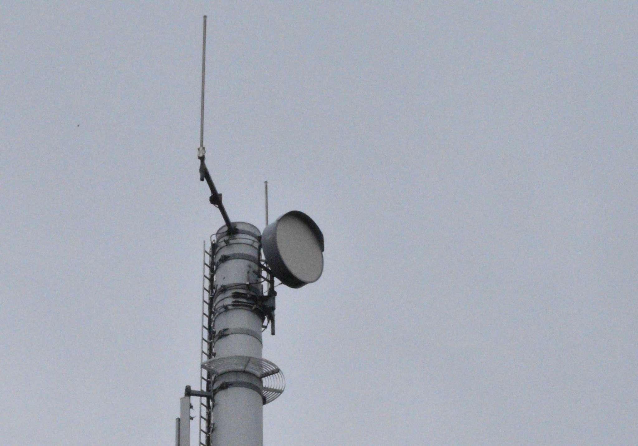 Funkmasten wie dieser in Sottrum sollen in Ahauser Randbereichen zur Internetanbindung dienen.