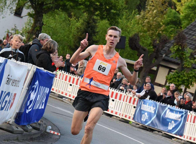 Hatten viele wohl nicht auf dem Zettel: Zehn-Kilometer-Sieger Michael Majewski.