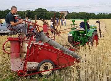 Bestehen seit 25 Jahren Freunde alter Landmaschinen