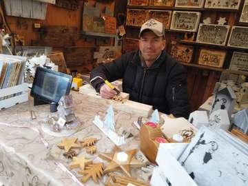 Weihnachtsmarkt in Sottrum Stimmung um die Kirche