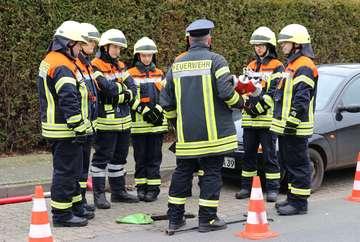 Künftige Feuerwehrleute schließen Truppmann1Lehrgang ab  Von Antje HolstenKörner