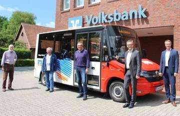 Volksbank unterstützt Bürgerbus