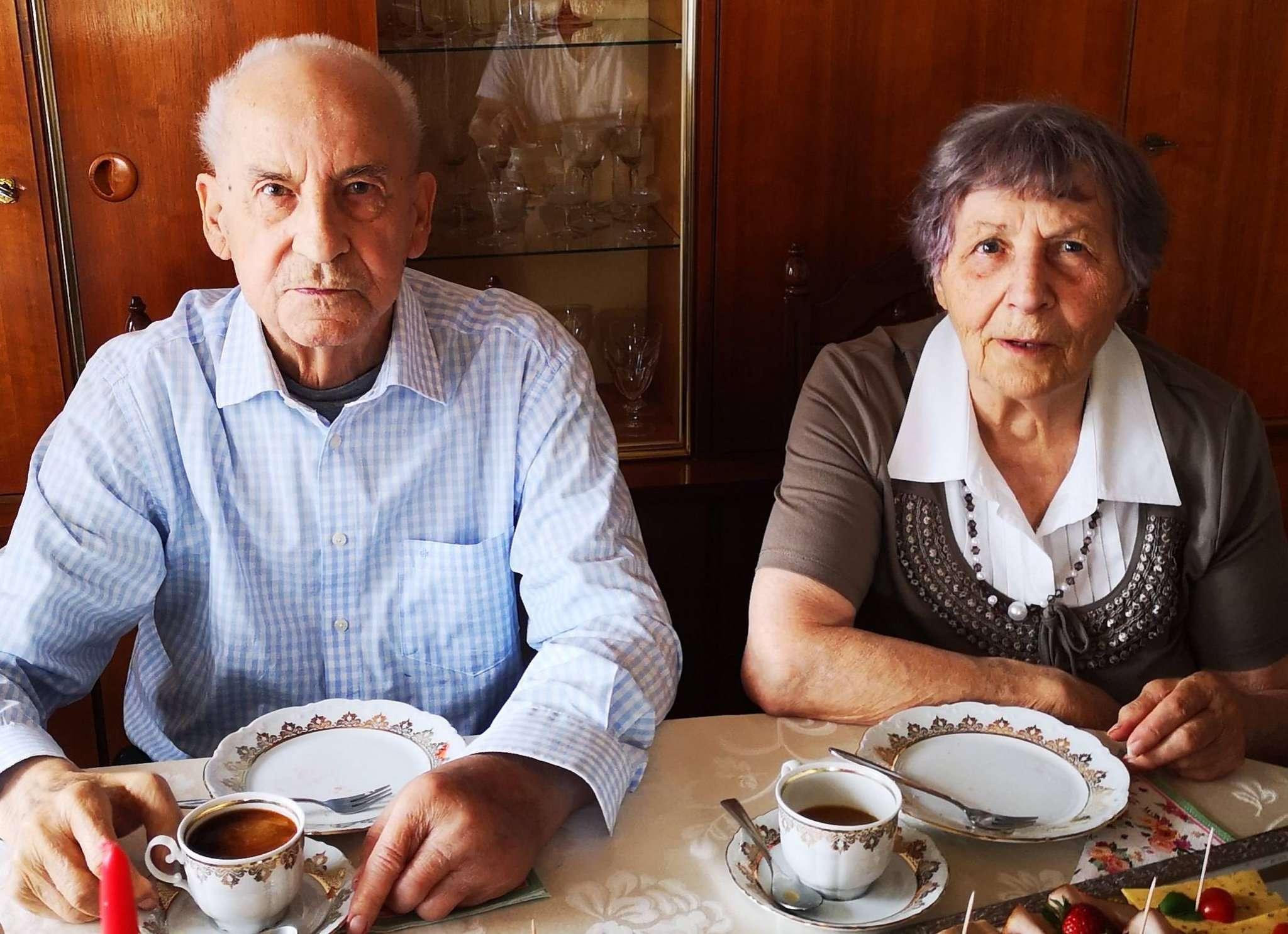 Horst und Emma Lückert blicken auf 65 gemeinsame Ehejahre zurück.