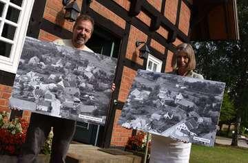 Heimatverein Sottrum präsentiert historische Luftaufnahmen  Von Andreas Schultz