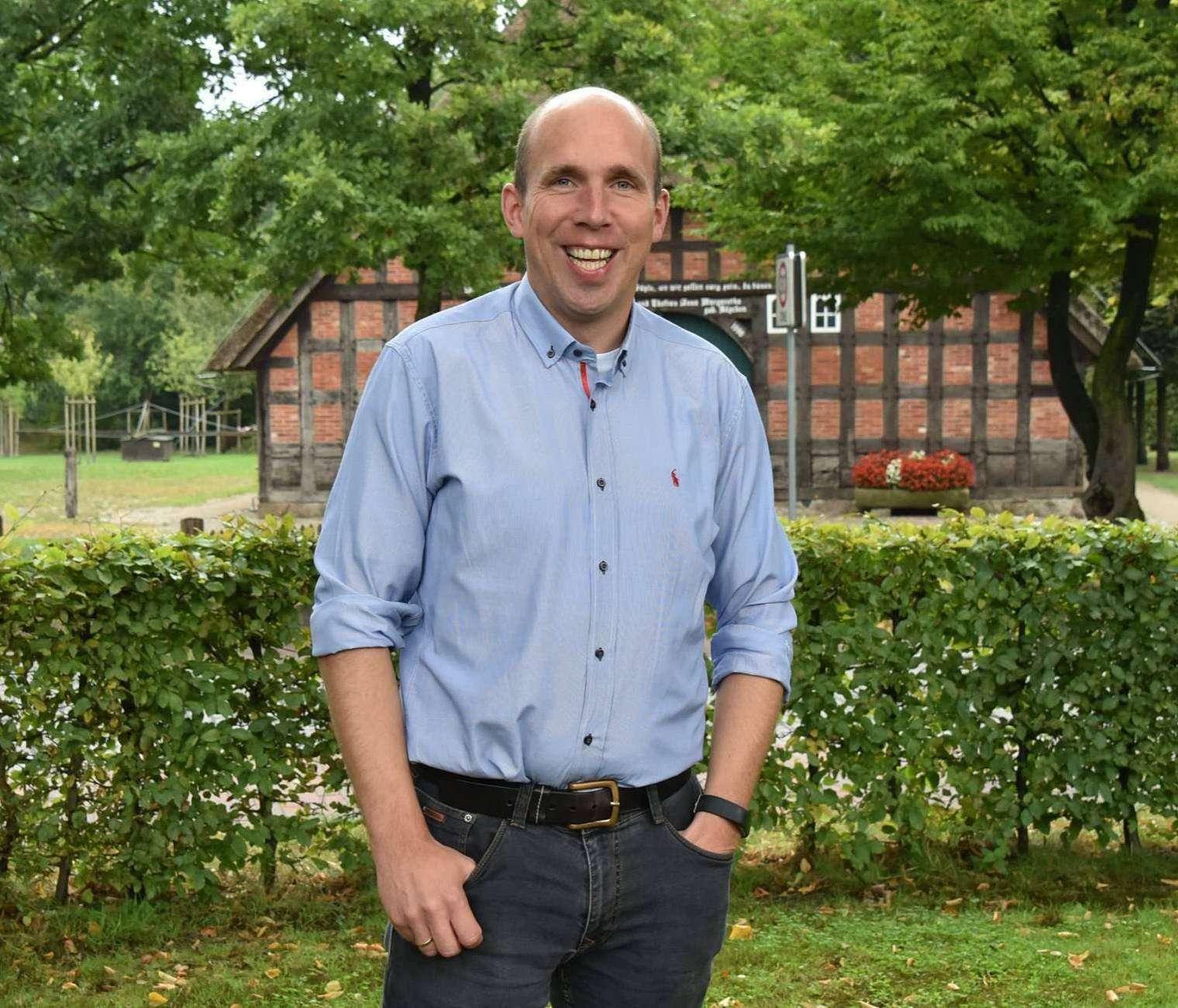 Abteilungsleiter in der Verwaltung, Gemeindedirektor für Sottrum: Für Holger Bahrenburg ist das Amt des Samtgemeindebürgermeisters der nächste richtige Schritt.