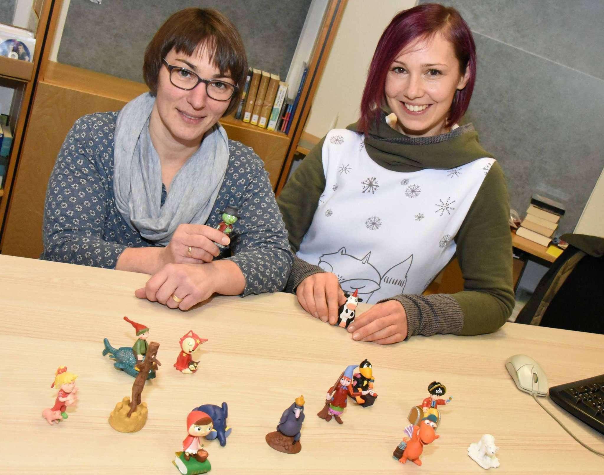 Vor zwei Jahren nahmen Anja Thiede (rechts) und Bianca Wunder noch die