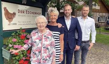 Eichenhof in Hellwege feiert 50jähriges Bestehen  Caf� vor fünf Jahren eröffnet