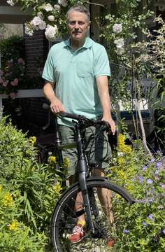 Michael Itzen ist einer der Sottrumer StadtradelStars  VON GUIDO MENKER