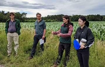 Projekt stellt PestizidEinsatz auf den Prüfstand  Von Nina Baucke