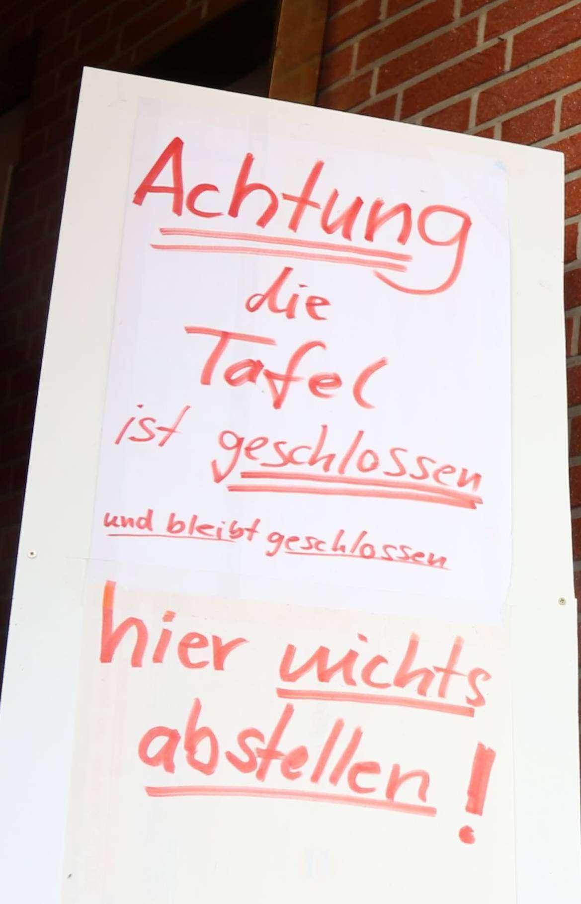 Die ehemalige Sottrumer Ausgabestelle der Rotenburger Tafel ist mittlerweile geräumt.  Foto: Nina Baucke