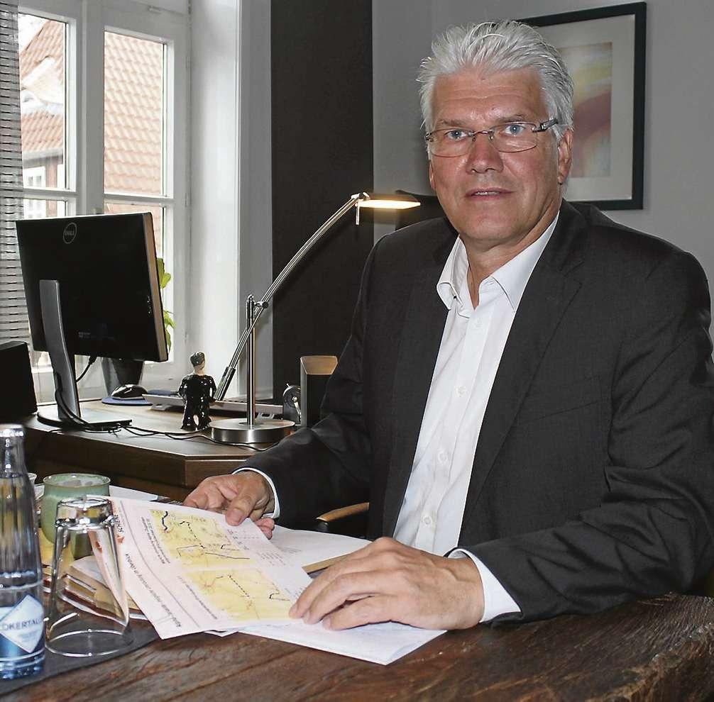 Setzt sich im Dialogforum Schiene Nord für die Visselhöveder ein: Bürgermeister Ralf Goebel.