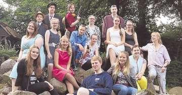Plattdeutsches JugendtourneeTheater macht Halt an der Vissel