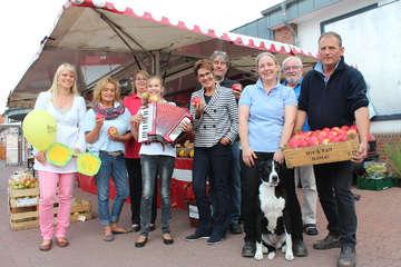 Mit regionalem Charme Apfelmarkt in Visselhövede