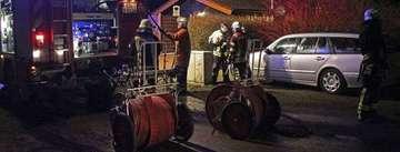 Bewohnerin verhindert Schlimmeres  Feuerwehr im Einsatz