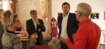Bundespolitiker zu Gast im Theater Metronom in Hütthof