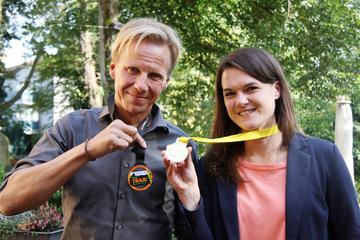 Marina Micic und Frank Akens über einen 856 Kilometer langen UltraLauf  Von Nina Baucke