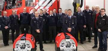 �bergabe an Feuerwehren Kettenburg und Wittorf