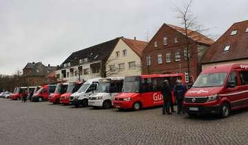 Bürgerbus Visselhövede feiert Betriebsjubiläum  Von Henning Leeske