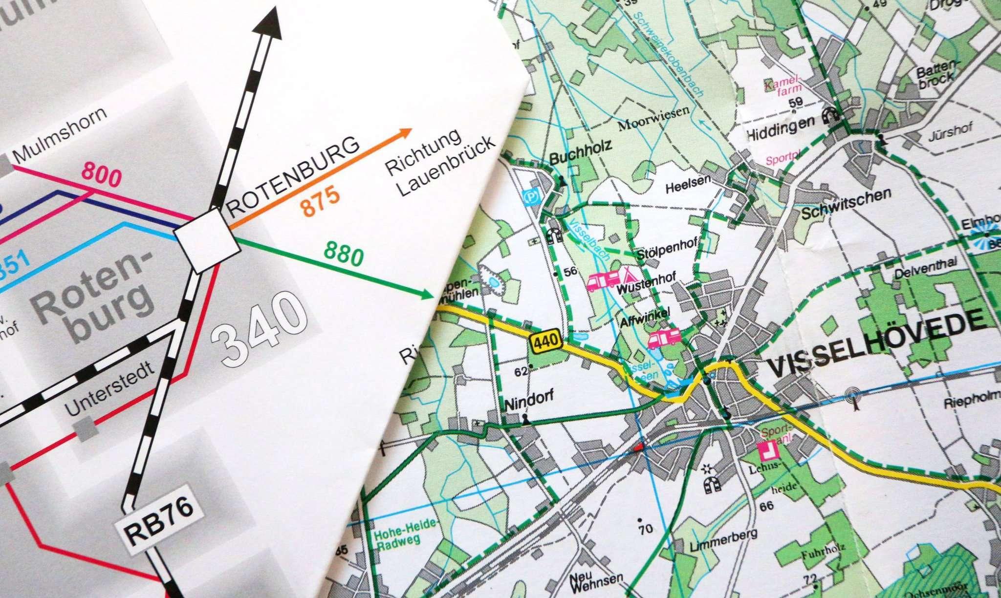 Noch endet das Liniensystem des VBN hinter Rotenburg im Nirgendwo, ab dem 1. August soll das anders sein, dann gehört auch Visselhövede dem Tarifverbund an. Foto: Dennis Bartz