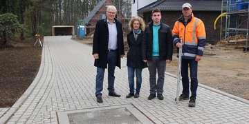 Stadt gibt neue Erschließungsstraße frei  Weitere in Planung  Von Henning Leeske