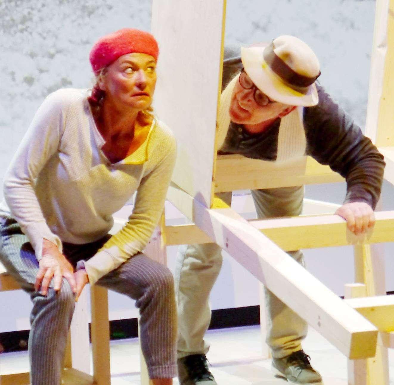 Karin Schroeder und Andreas Goehrt entführen in ein turbulentes Abenteuer. Fotos: Janila Dierks