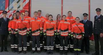 Visselhöveder Feuerwehr nimmt TruppmannPrüfung Teil 1 ab