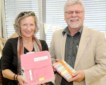 GerardOtto Dyck und Stella Thom gehen in den Ruhestand