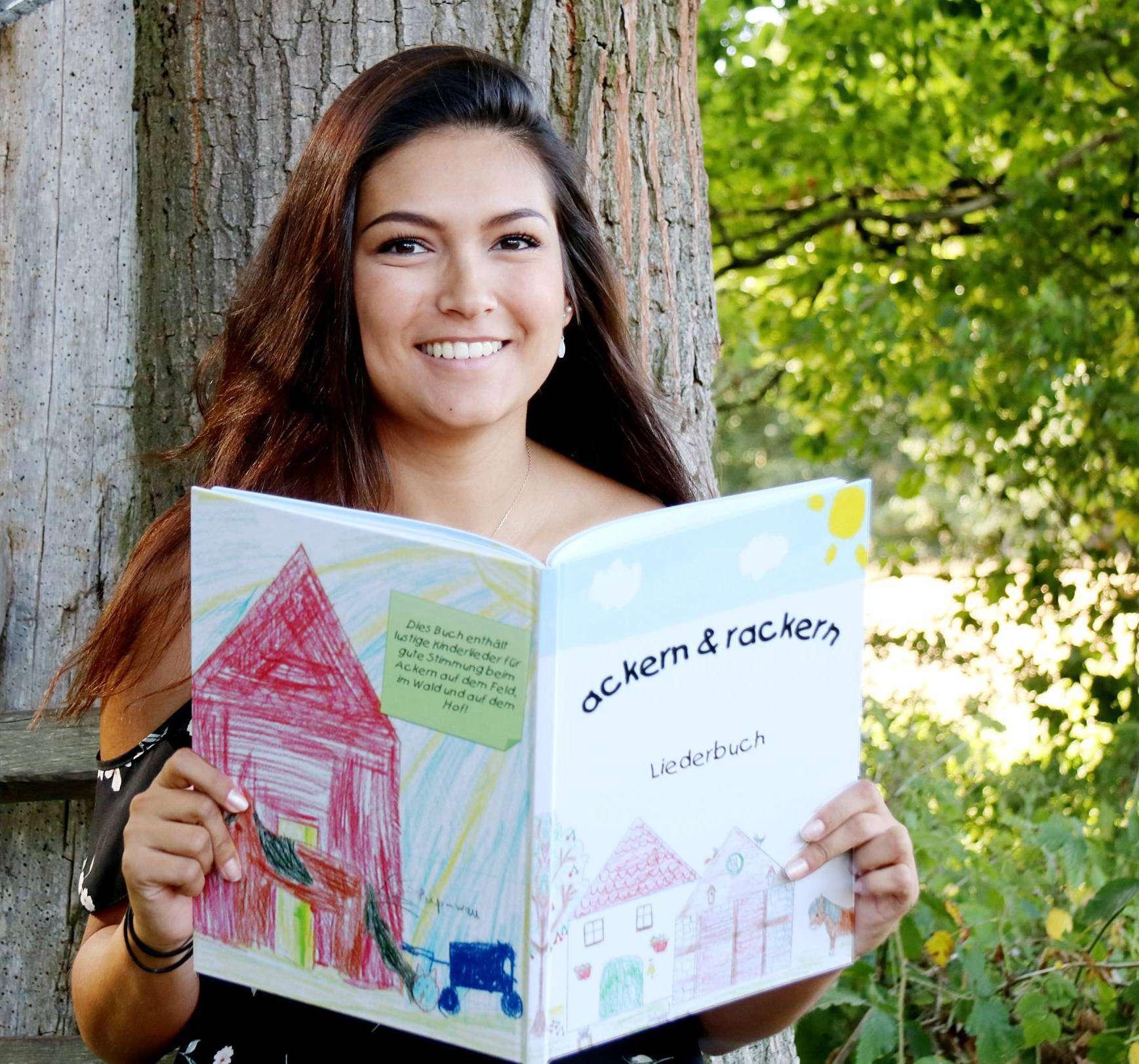 Helena Danneberg hat für den Schulbauernhof