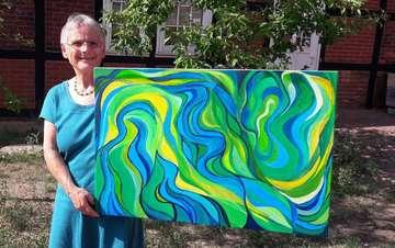 Roswitha Wagner zeigt ihre Werke im Wasserturm