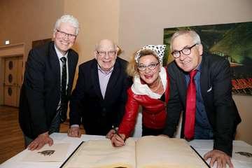 Stadt zeichnet bei Empfang drei verdiente Visselhöveder aus  Von Nina Baucke
