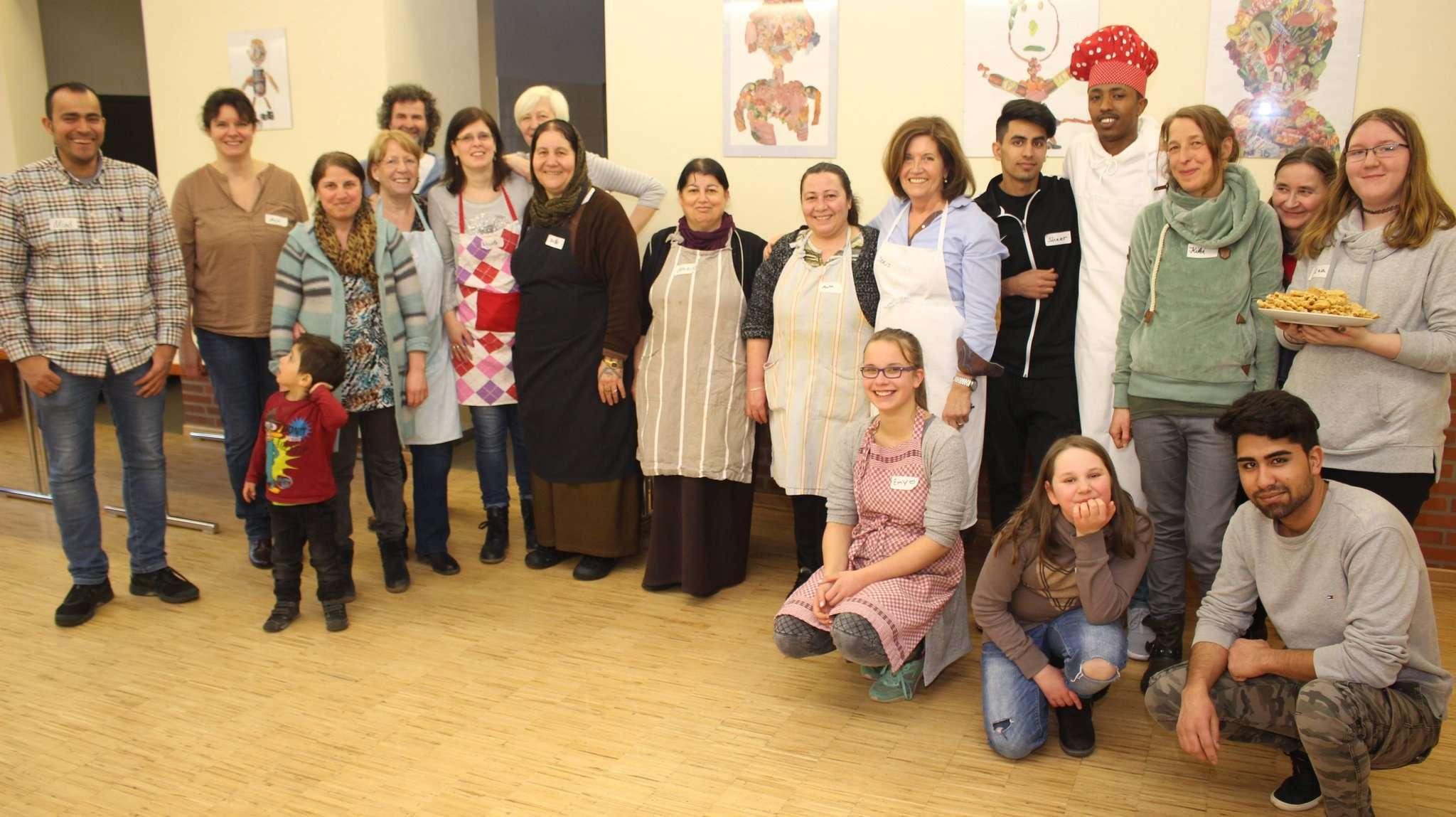 Bei der letzten Küche des Präventionsrates gab es eine breite Palette an südländischen Spezialitäten. Foto: Henning Leeske