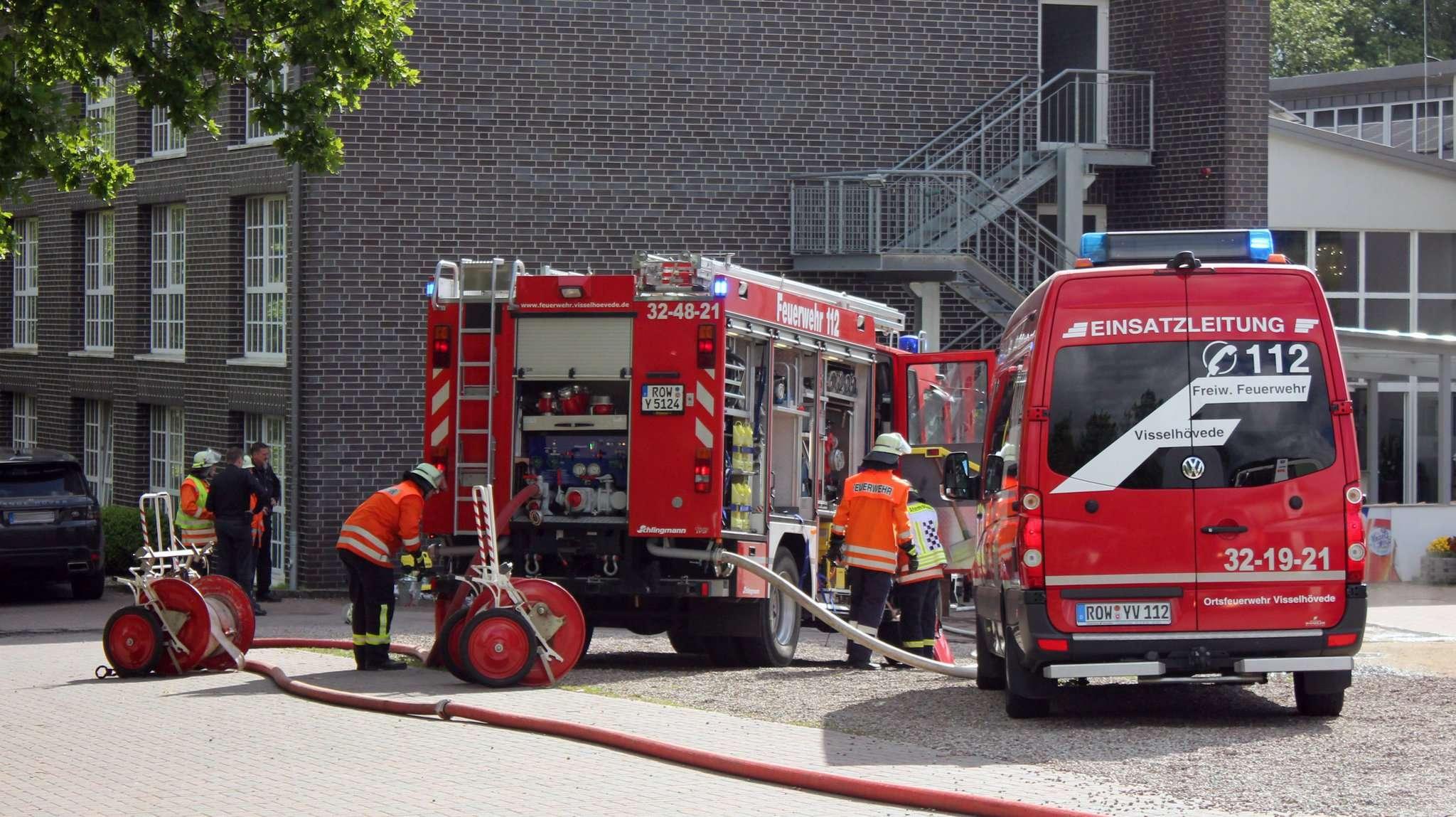Der Feuerwehr gelang es, den Brand schnell in den Griff zu bekommen.