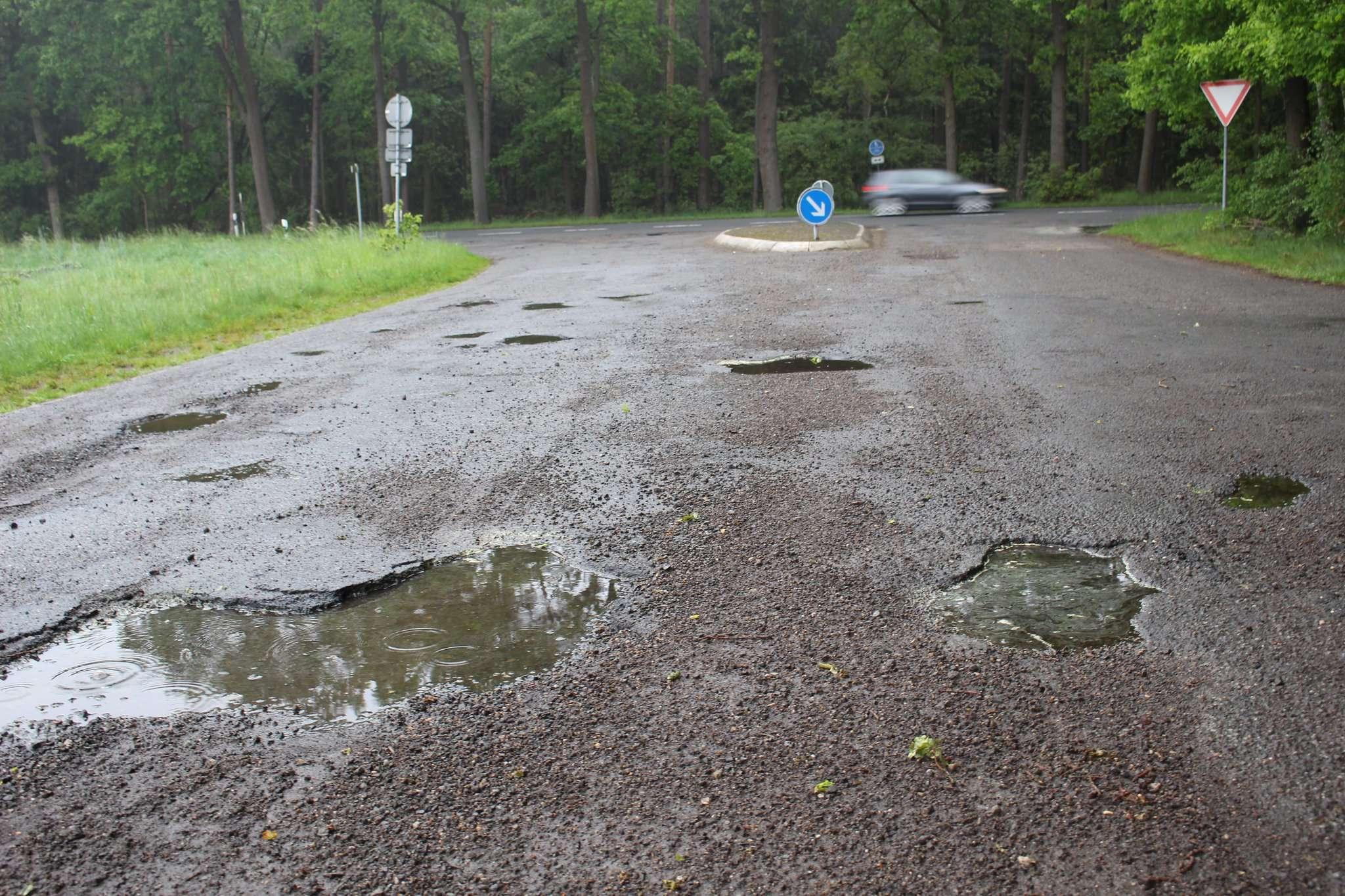Die Einmündung beim ehemaligen Bundeswehrareal bei Hiddingen ist ebenfalls Teil der Planungen. Foto: Henning Leeske