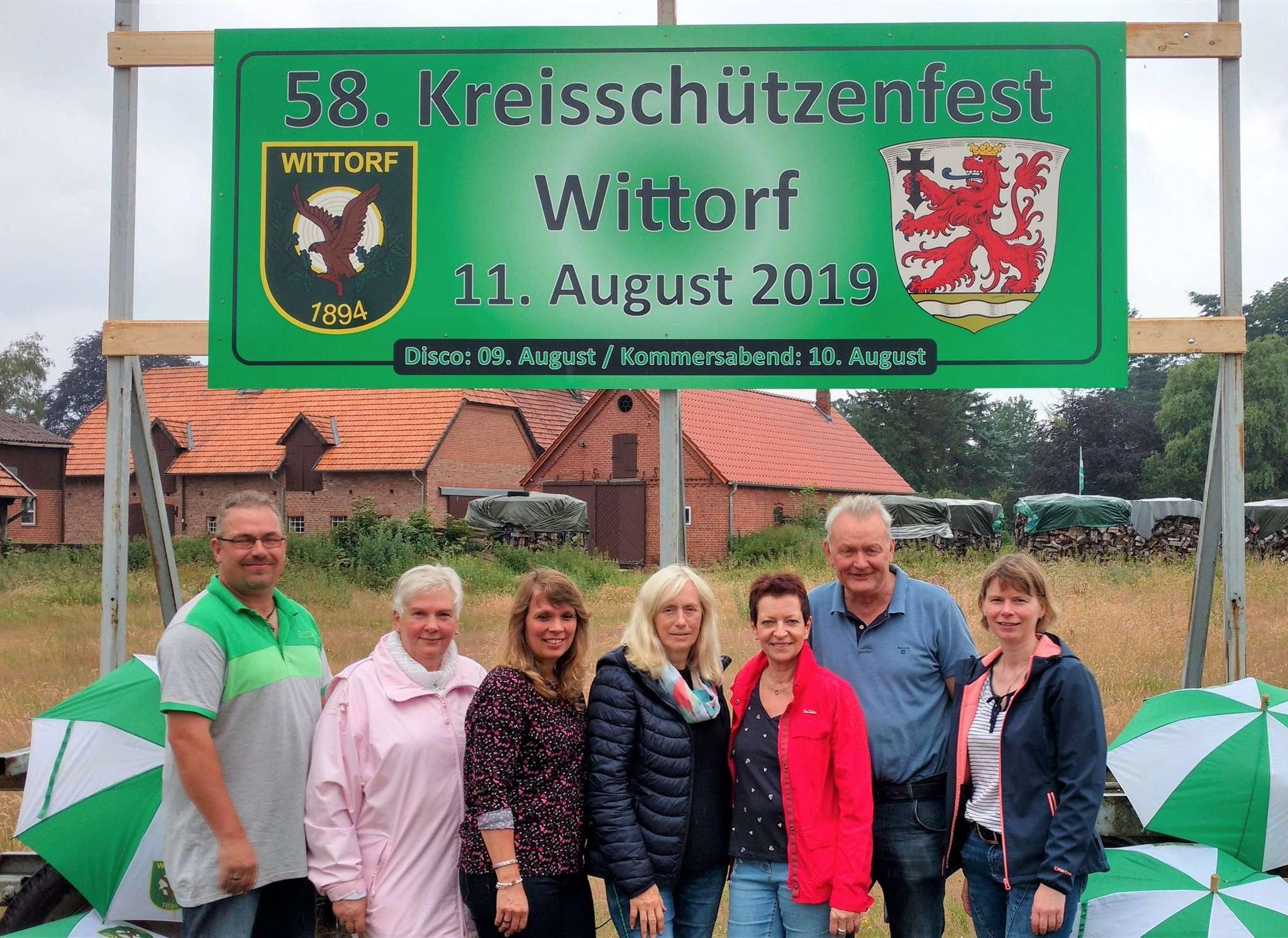 Das Organisationsteam des Kreisschützenfestes hat vom 9. bis 11. August viel vor.