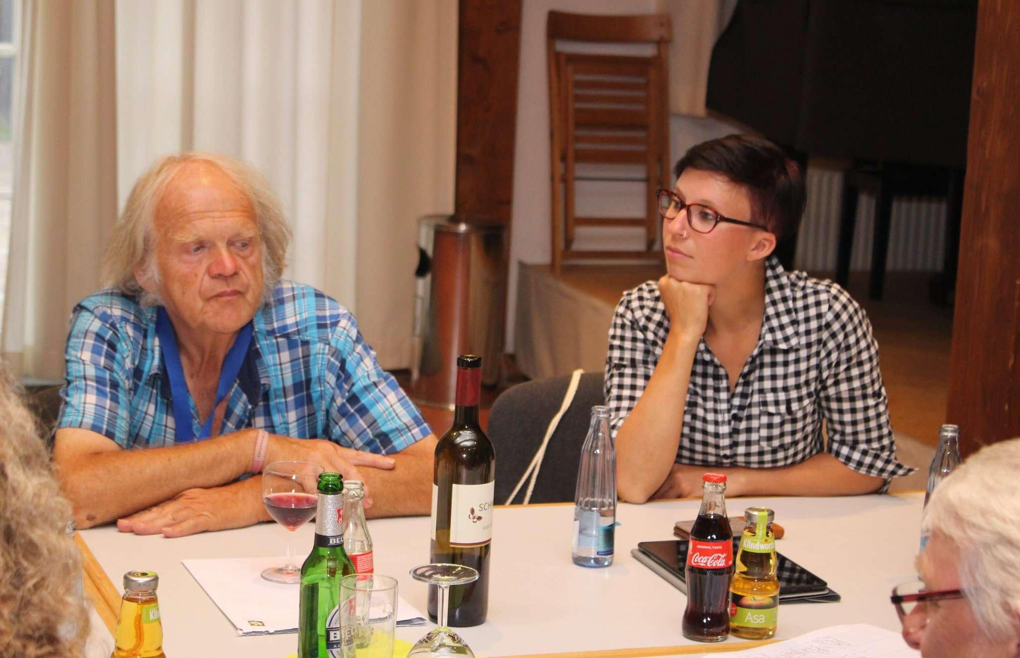 Klaus Jädicke als zweiter Vorsitzender und Tomke Heeren als Schatzmeisterin haben derzeit wichtige Funktionen im Vorstand inne. Foto: Henning Leeske