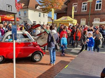 Visselhöveder Apfelmarkt lockt mit zahlreichen Aktionen und Angeboten tausende Besucher an