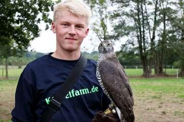 Marten Marquard begeistert sich für Greifvögel und Fasane  Von Nina Baucke