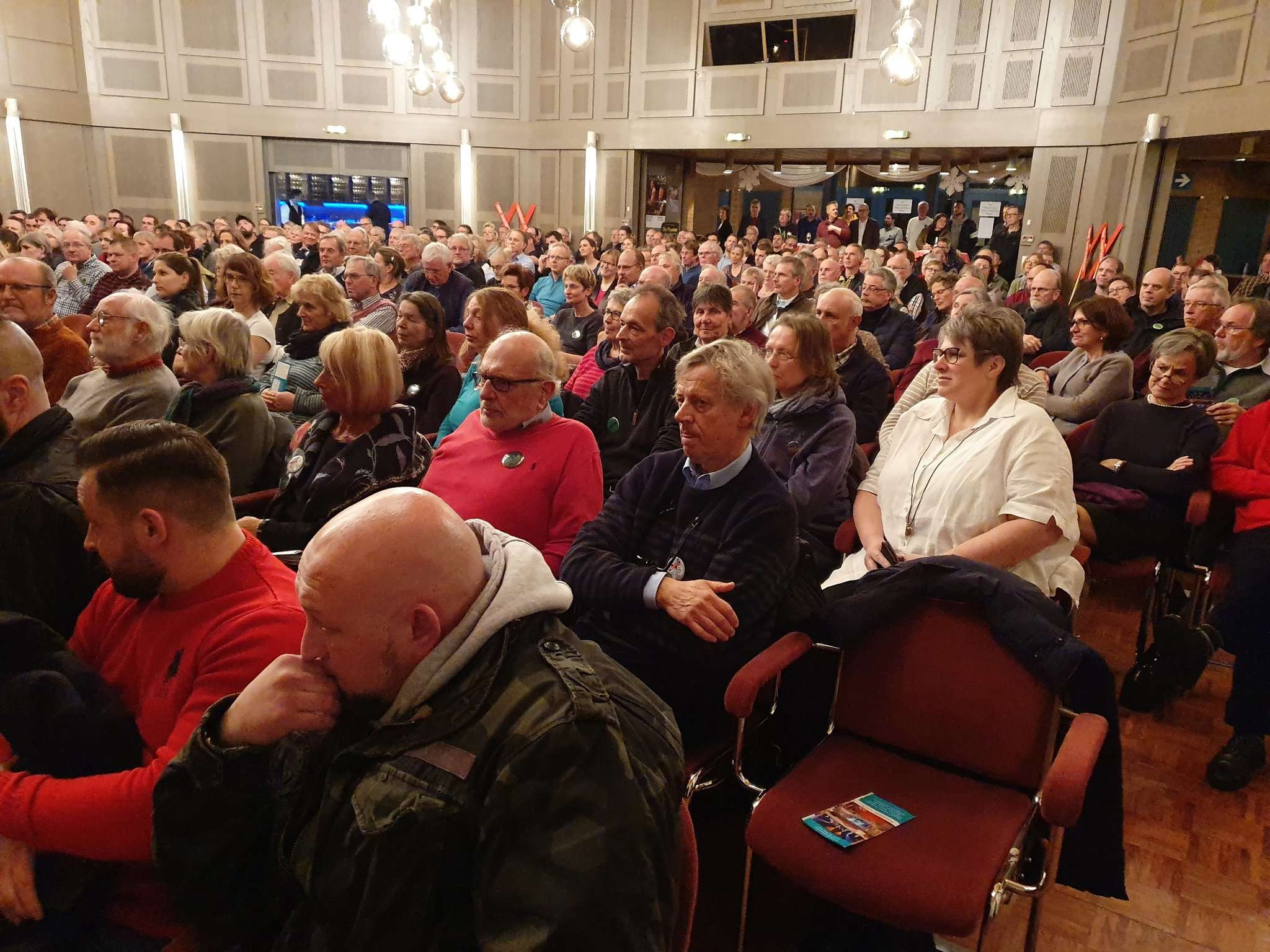 Zahlreiche Bürger nahmen an der Diskussion teil. Foto: Klaus Müller