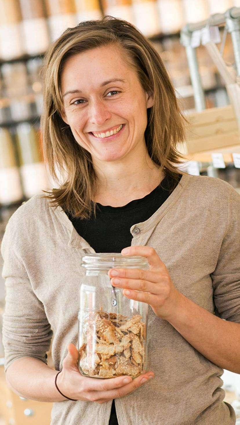 Olga Witt ist überzeugt davon: Ein Leben ohne Abfall ist möglich.