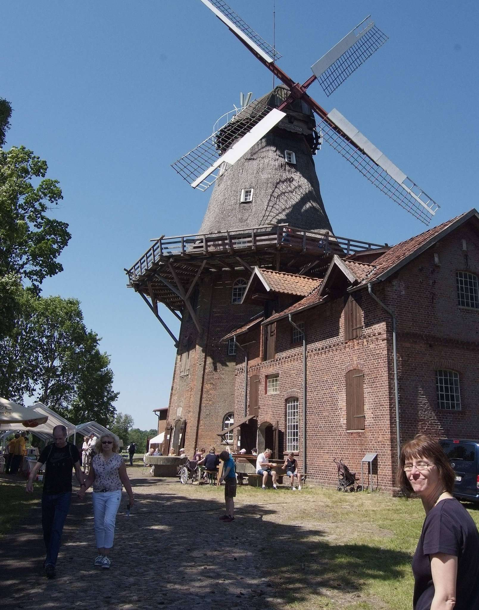 In den vergangenen Jahren fanden immer stets einige Interessierte den Weg zur Brockeler Mühle.