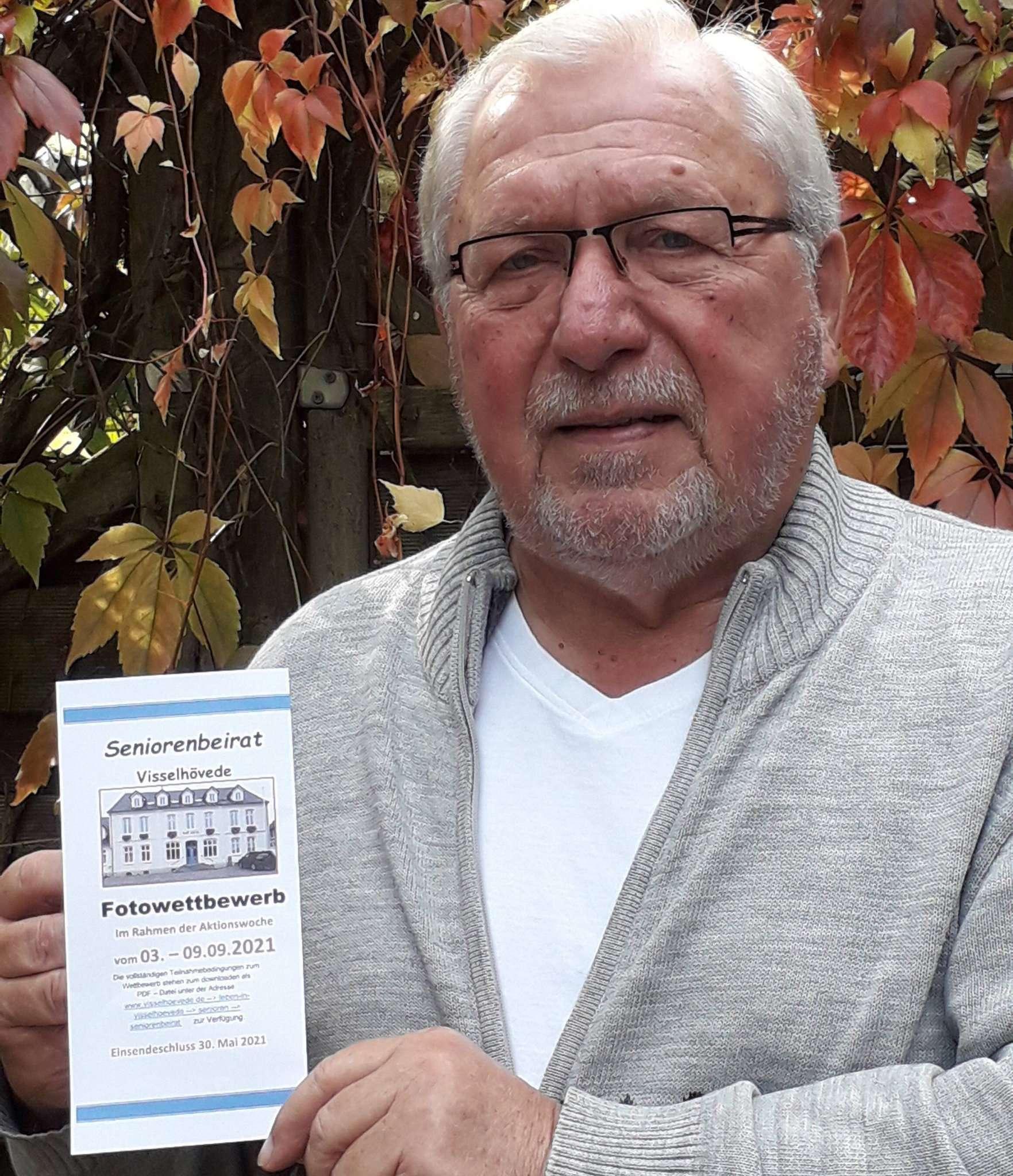 Helmut Sündermann sucht Lieblingsplätze.